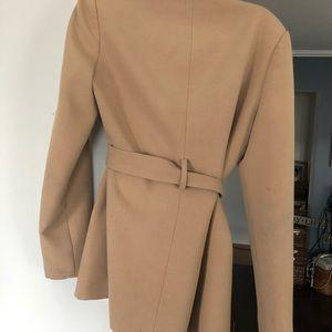 Tan dress Pea coat